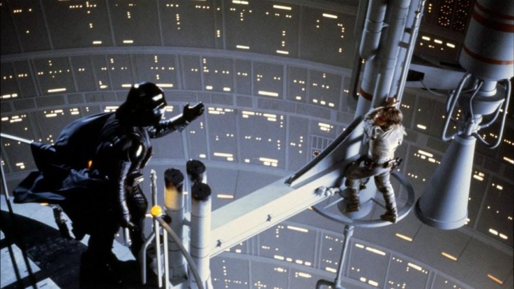 L'Impero colpisce ancora Luke e Vader