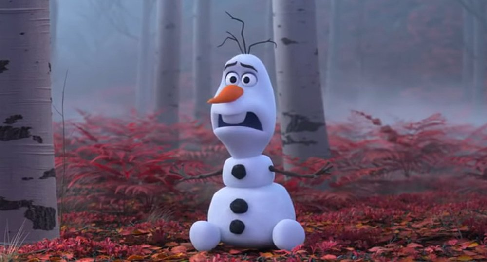 Olaf in Frozen 2