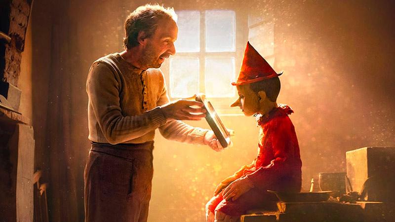 Poster di Pinocchio con Benigni