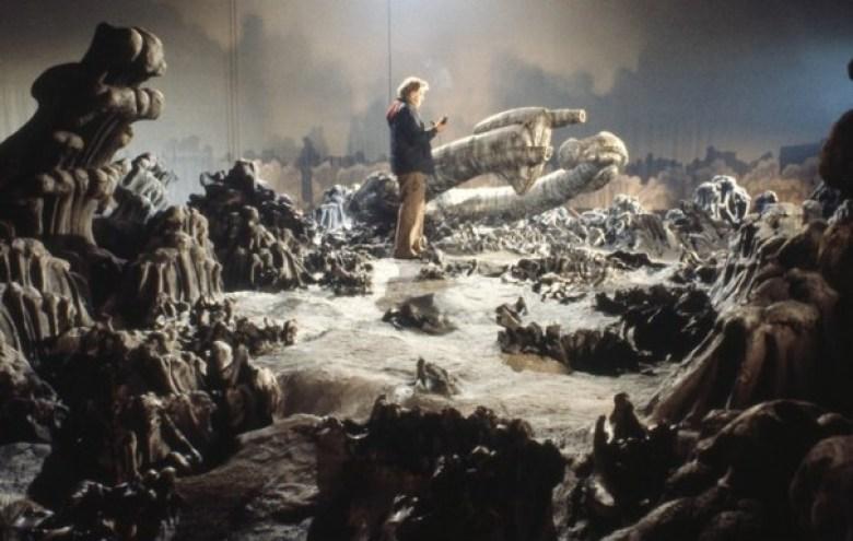 Alien pianeta dietro le quinte