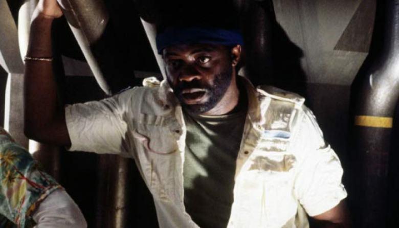 Yaphet Kotto è Parker sul set di Alien