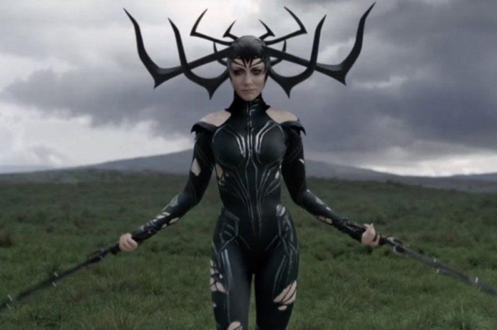 Hela con corna in Thor Ragnarok