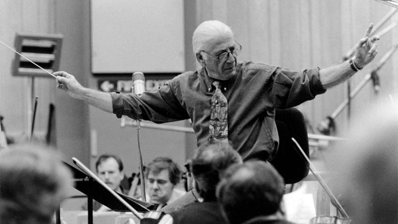 Il compositore Jerry Goldsmith