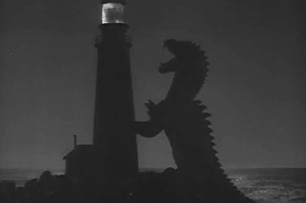 Rhedosaurus contro faro