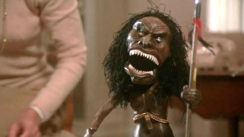 Statua Zuni trilogia del terrore