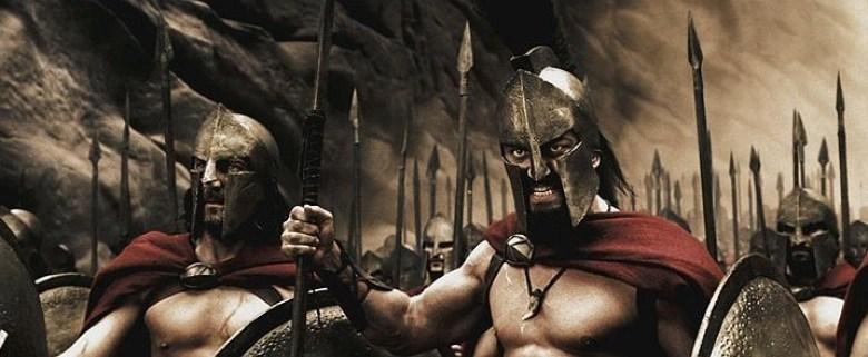 300 Spartani Leonida scena guerra