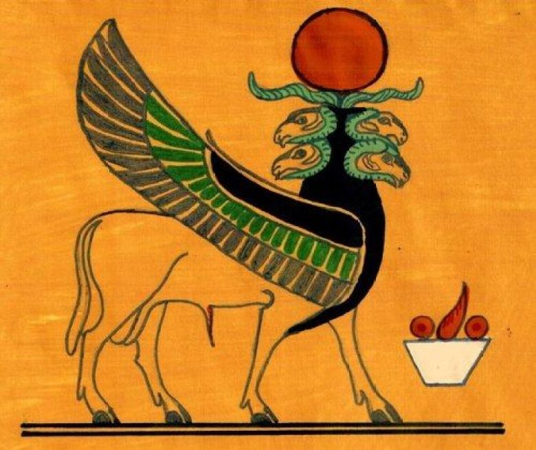Ariete Dio egizio mostro