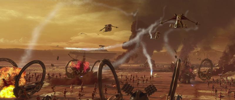 Battaglia di Geonosis scena