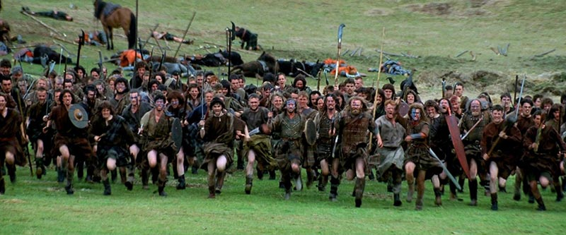 Braveheart scozzesi Stirling