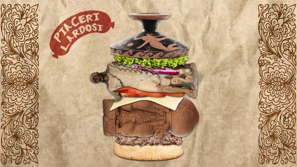 Hamburger con Etruschi Piaceri Lardosi