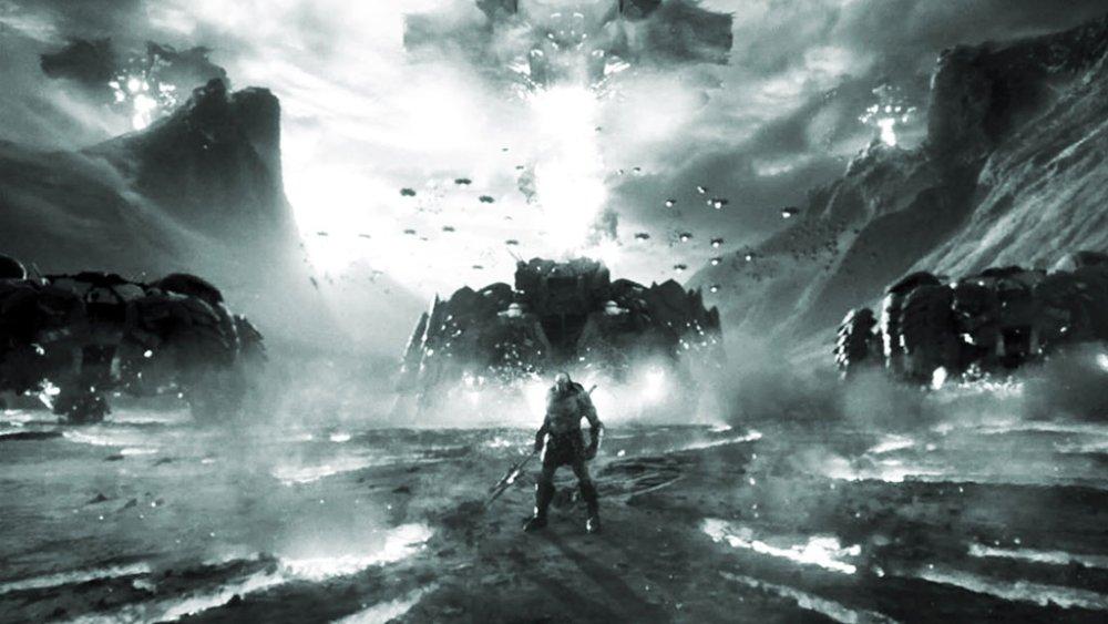 Darkseid esercito poster Snyder Cut