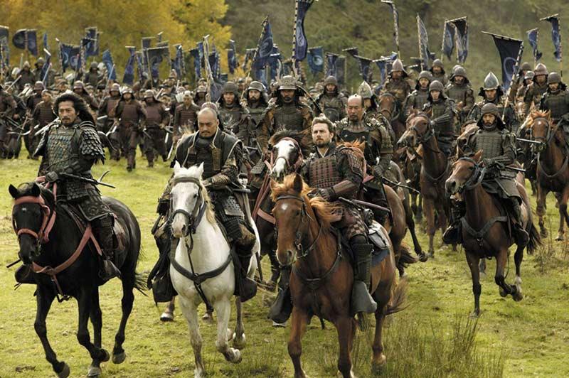 Ultimo Samurai scena finale battaglia