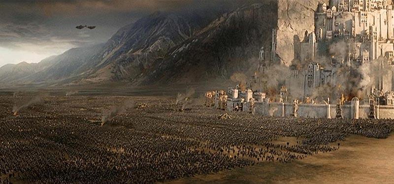 Minas Tirith Campi Pelennor