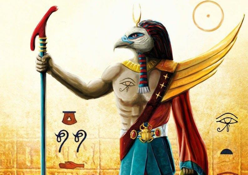 Nefti dio egiziano traghettatore fanart