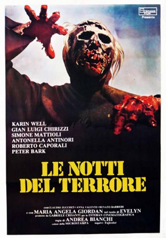 Le notti del terrore locandina film
