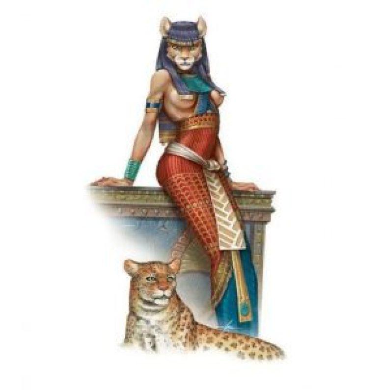 Pakhet dea egiziana leonessa