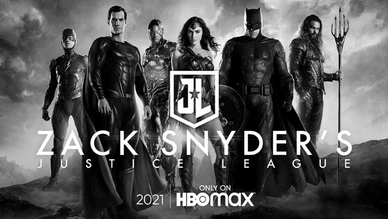 Snyder Cut HBO Max poster personaggi