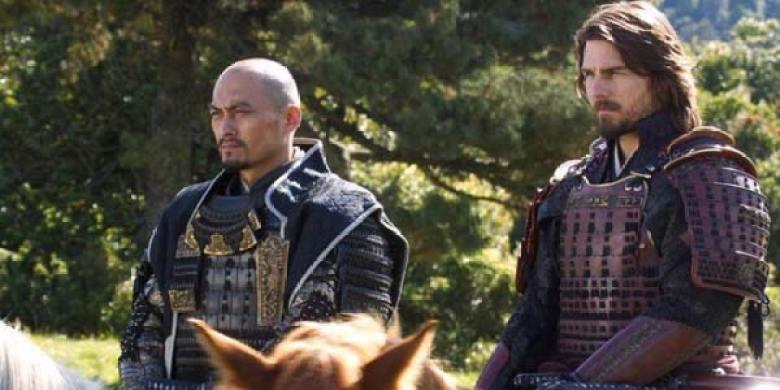 Ultimo Samurai Tom Cruise a cavallo