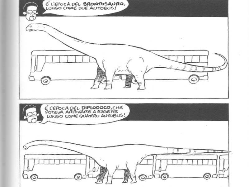 Autobus Leo Ortolani Dinosauri