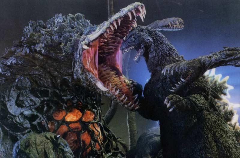 Biollante mostro contro Godzilla