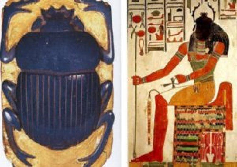 Khepri scarabeo Egitto