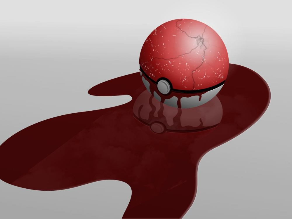 Immagine creepypasta Pokémon Pokeball