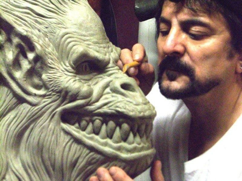 Tom Savini con Scimmia Creepshow