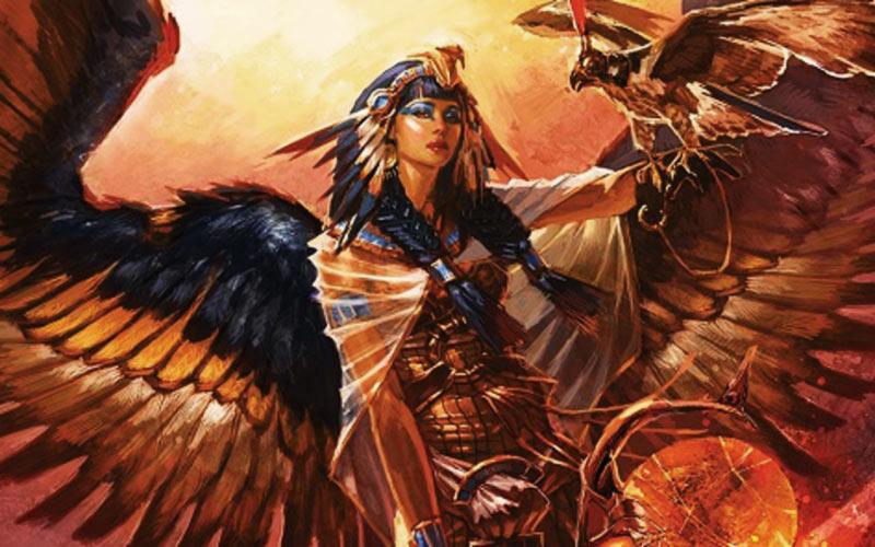 Iside artwork dea egizia