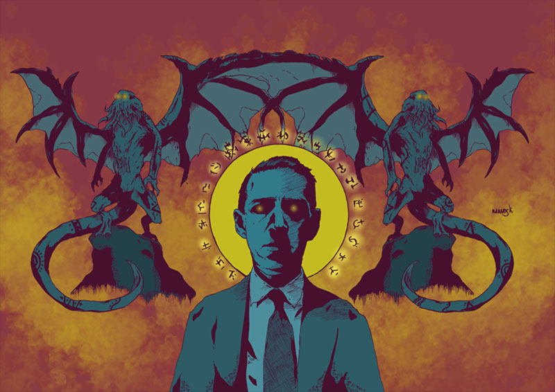 H. P. Lovecraft fan art