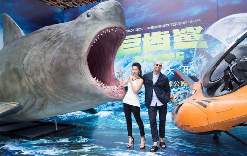 Jason Statham shark primo squalo