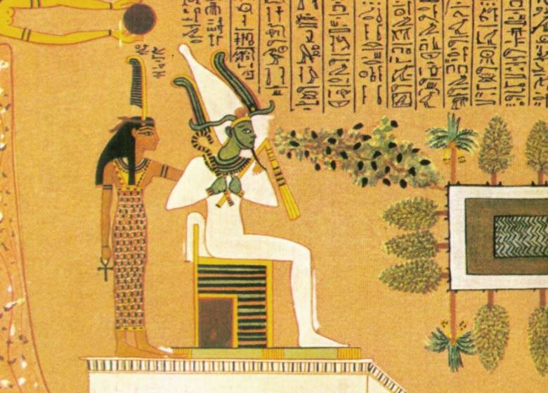 Osiride Iside divinità egiziane
