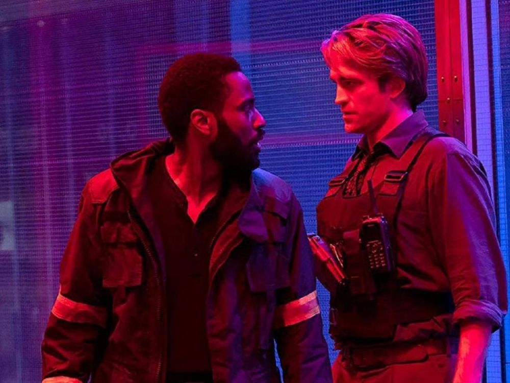 John David Washington e Robert Pattinson in Tenet