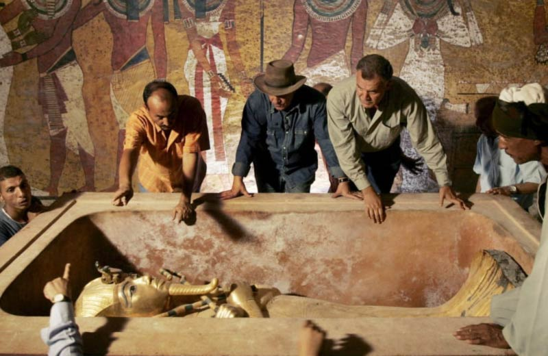 Tomba ti Tutankhamon aperta