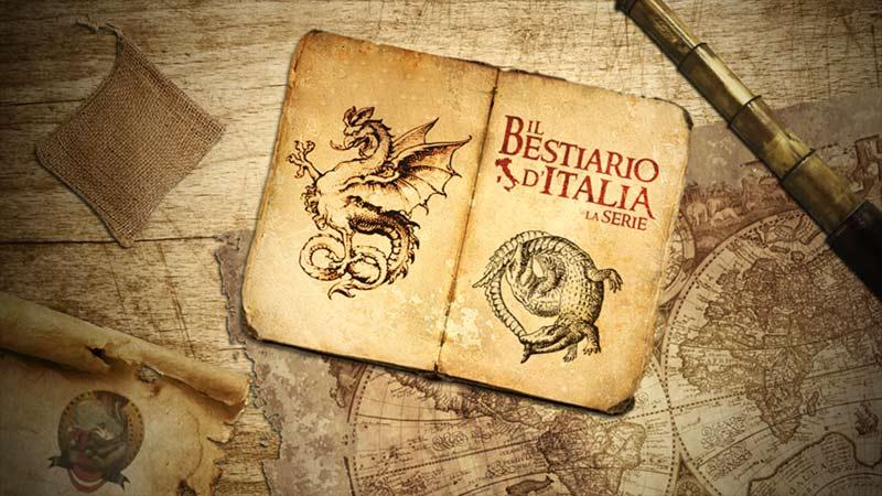 Poster promozionale Bestiario d'Italia la serie