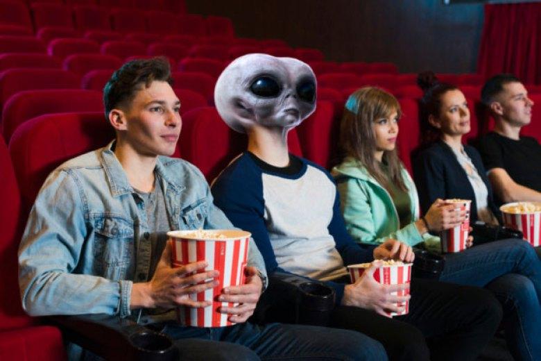Alieno al cinema piaceri lardosi