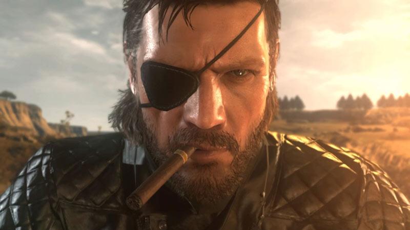 Big Boss in Metal Gear 5 Phantom Pain