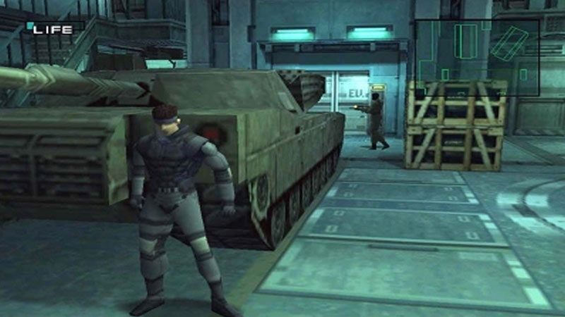 Gameplay del primo metal gear solid
