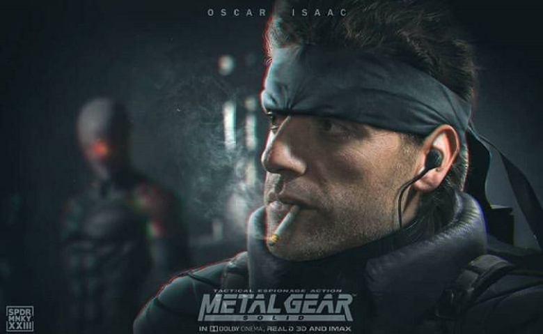 Oscar Isaac fotomontaggio dei fan con Solid Snake