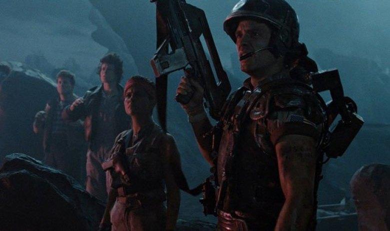 Aliens scena esterni caporale Hicks