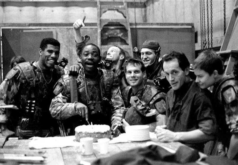 Aliens scontro finale cast marines attori