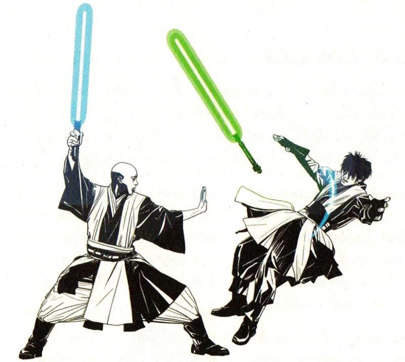 Niman force push Jedi