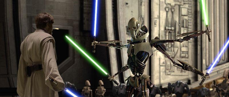 Obi-Wan contro Grievous