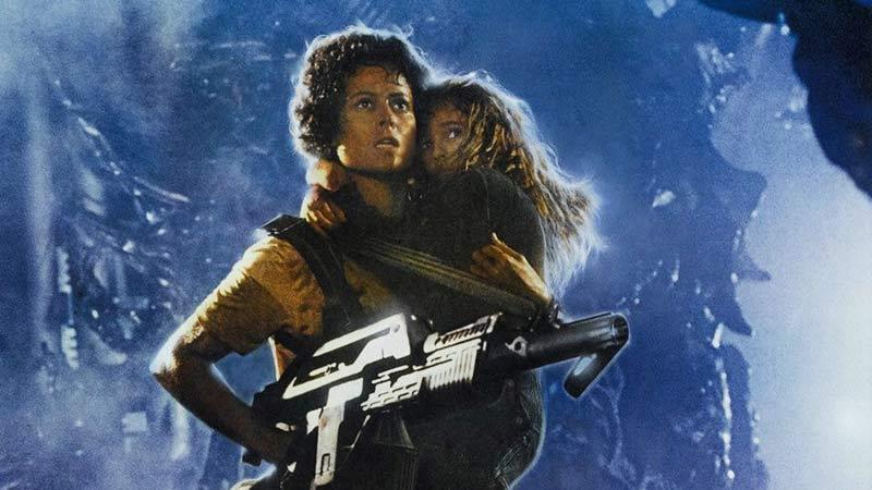 Ripley Newt scena di Aliens scontro finale