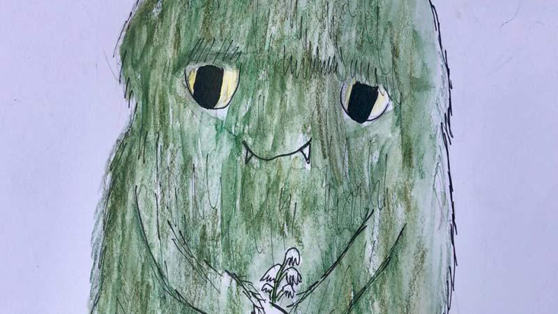 Ickabog disegno bambina bristol