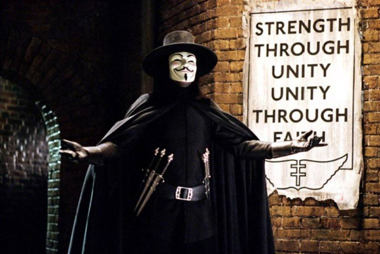 V per Vendetta costume