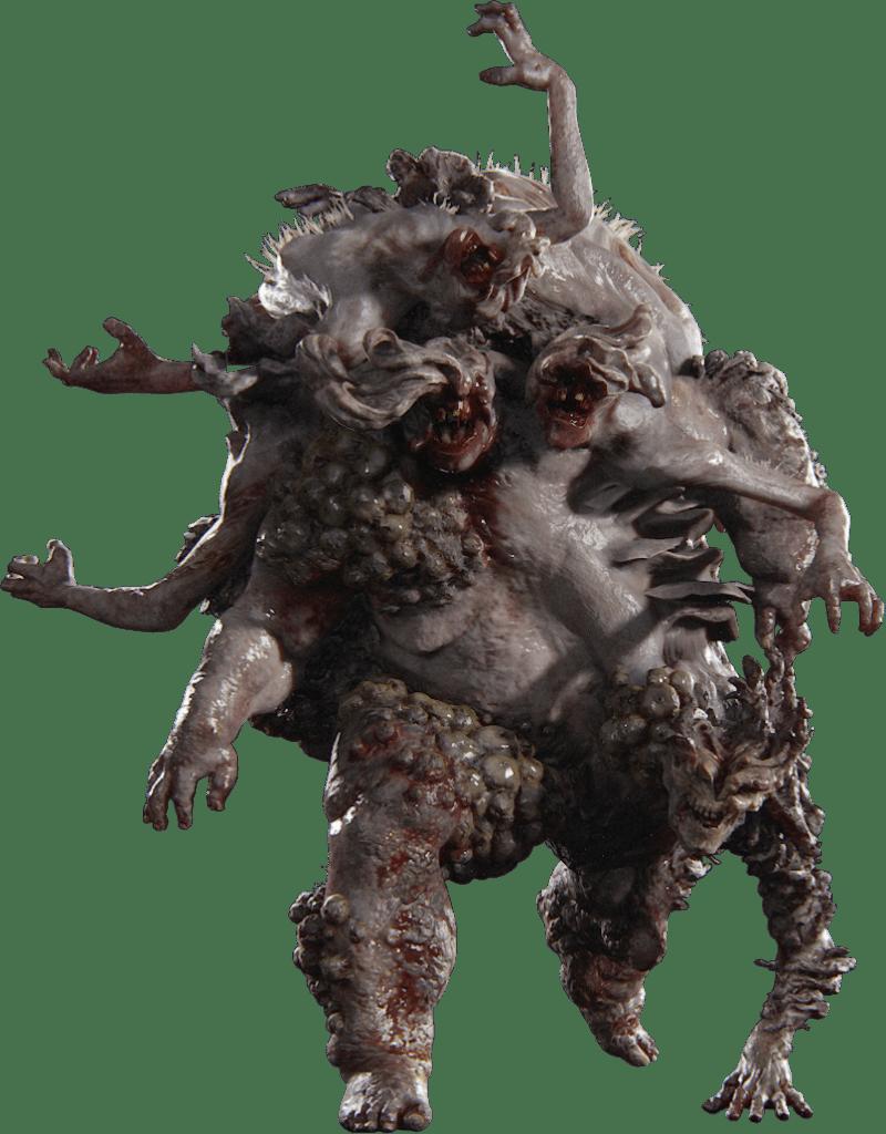 Rat King bestiario di The Last of Us