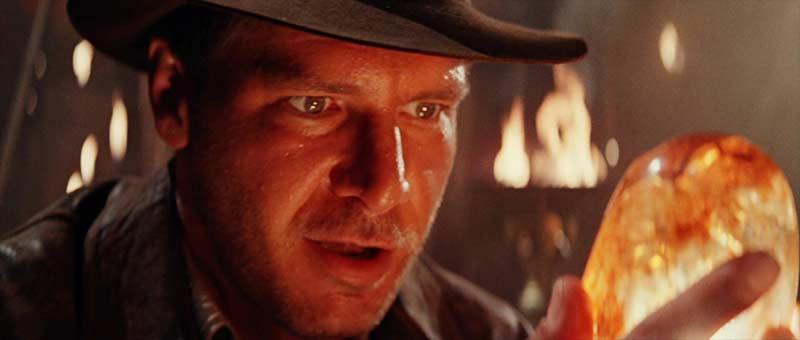 Indiana Jones tempio maledetto primo piano