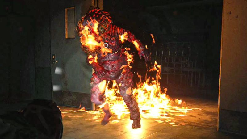 Shambler mostro the last of us