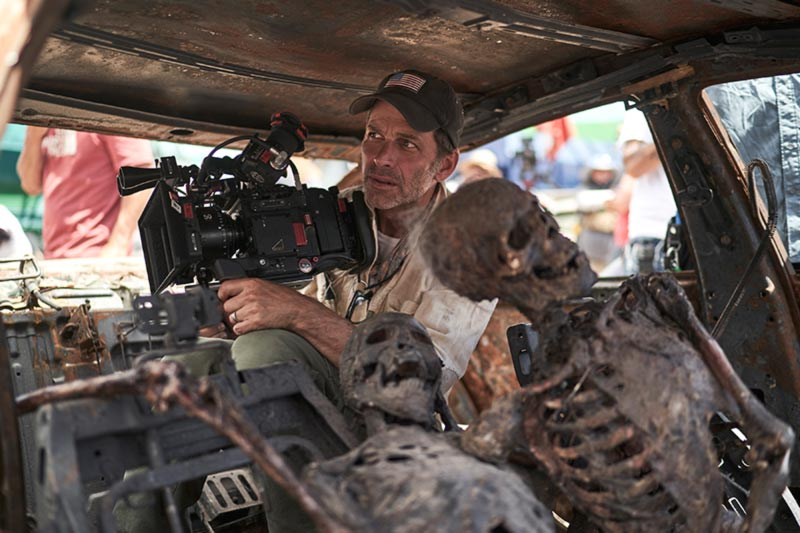 zack snyder behind the scenes army of the dead