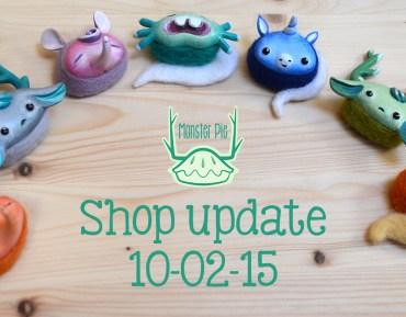 Shop update!